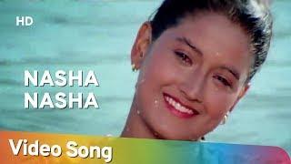 Nasha Nasha (HD)   Dushman Duniya Ka (1996)   Lucky Ali   Anu Malik Hit Songs