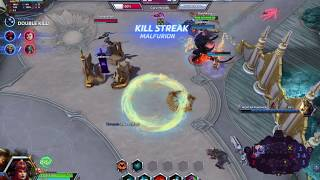 Heroes of the Storm Final Push Tripple Tap Block