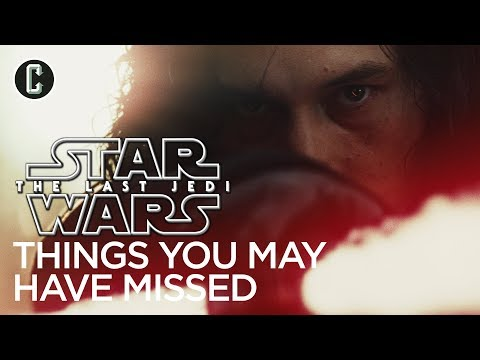 Star Wars: The Last Jedi - Things You May Have Missed