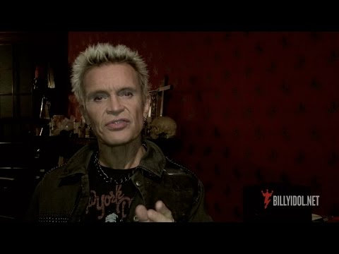 Announcing Billy Idol: Forever! Las Vegas 2016