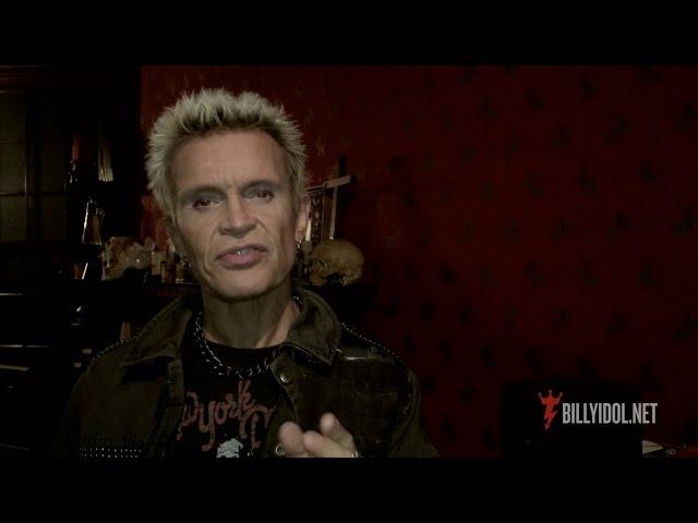 Announcing Billy Idol: Forever! Las Vegas 2016