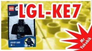 LEGO Star Wars, брелок фонарик Дарт Вейдер