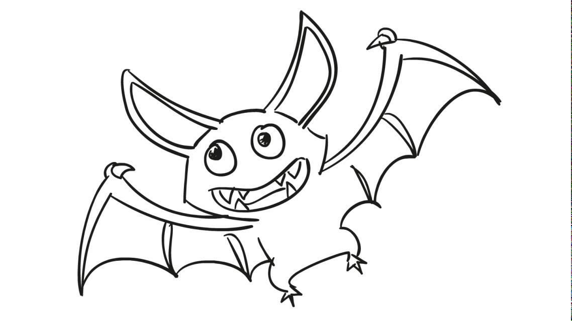 Suficiente Como desenhar um morcego - YouTube AK99