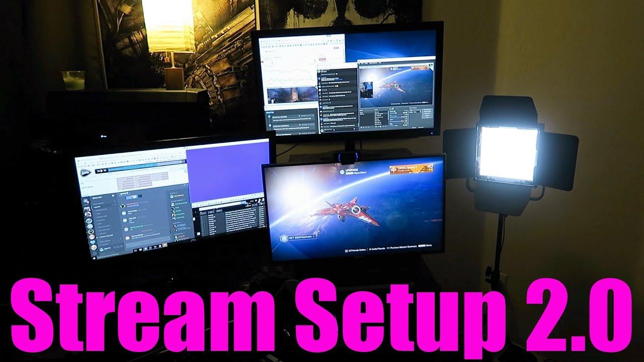 how to setup youtube live stream