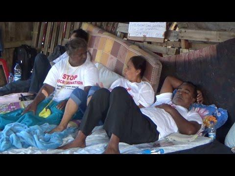 La grève de la faim des clients de SCBG et BAM se poursuit