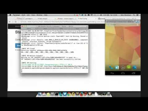 Garage4Hackers Webcast - Security Framework for Mobile Application Testing