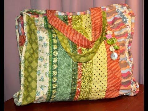 Quilting y Patchwork , Bolso , Maquinas de coser Elna , Silvia Herman