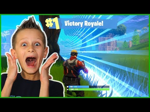 I WON VICTORY ROYALE!!!