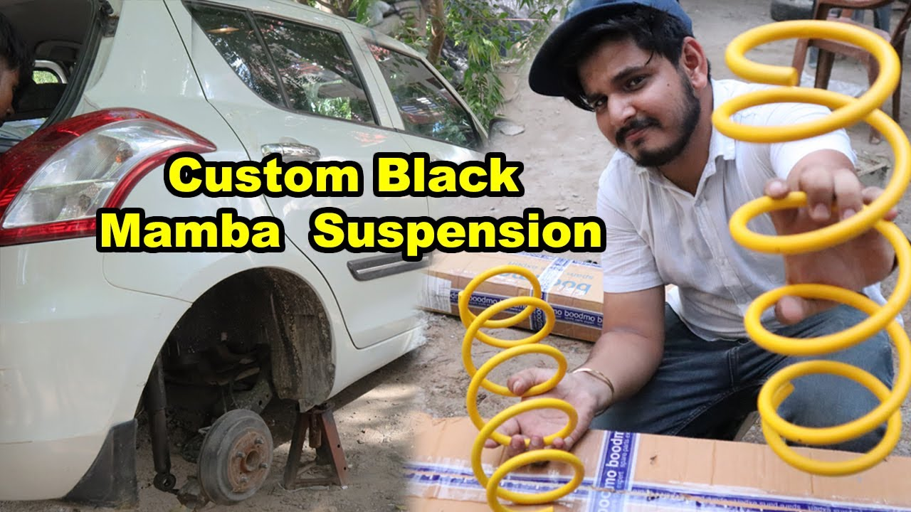 NEW Custom Suspension SWIFT (PART- 7)