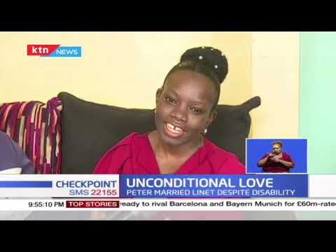Where Love Conquers All: How Peter Oduor and Linet Kagasa are living happily despite disability