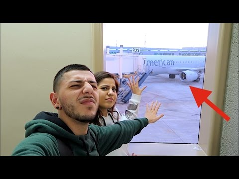 WE MISSED OUR FLIGHT!! (Worst day ever!)