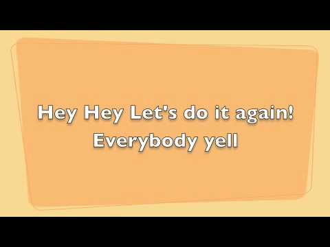 Everybody Yell Go Fight Win