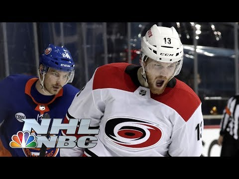 NHL Stanley Cup Playoffs 2019: Hurricanes vs. Islanders | Game 2 Highlights | NBC Sports