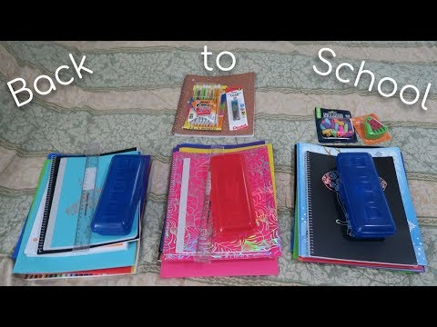 Homeschool Back to School Shopping l Wal Mart l 2018-2019 School Year