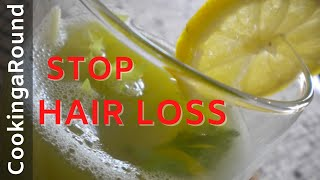 Stop Hair Loss And Strengthen Regrowth. Homemade Hair Tonic.