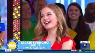 Baixar Jackie Evancho performing Burn on Good Morning America