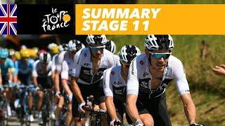 Summary - Stage 11 - Tour de France 2018