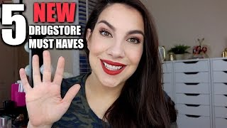 5 NEW DRUGSTORE PRODUCTS WORTH TRYING
