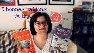 3 bonnes raisons de lire... #1 Coeur d'Encre & Stravaganza