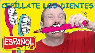 CEPILLATE LOS DIENTES | Steve and Maggie Español Latino | Historias para Niños en Español