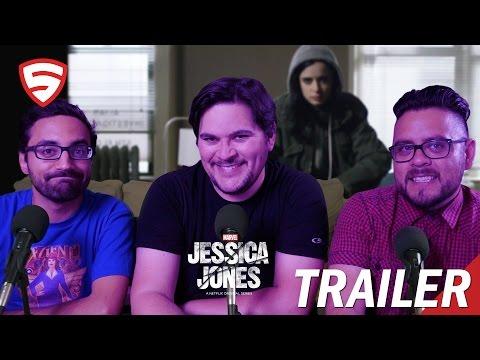 Marvel's Jessica Jones Official Trailer Reaction!