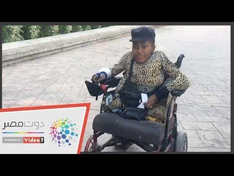 هدى من ذوى الاحتياجات الخاصة تدلي بصوتها في الاستفتاء  - 19:54-2019 / 4 / 20