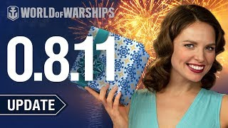 Update 0.8.11. New Year Celebrations in World of Warships