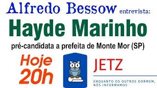 Jetz - Hayde Marinho e os desafios de ser pré-candidata Conservadora