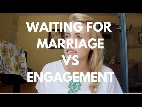 Why Wait Until Marriage and Not Engagement?