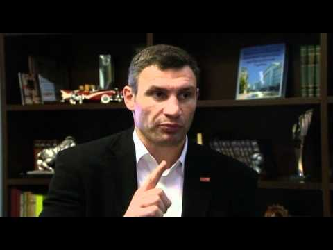 Vitali Klitschko interview part 3 - People power and becoming President