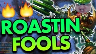 ROASTING FOOLS FOR DAYS! RUMBLE TOP - League of Legends Commentary