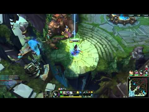 League of legends - Akali jungle - challenger - Dubai player faisalalkous - Eu west