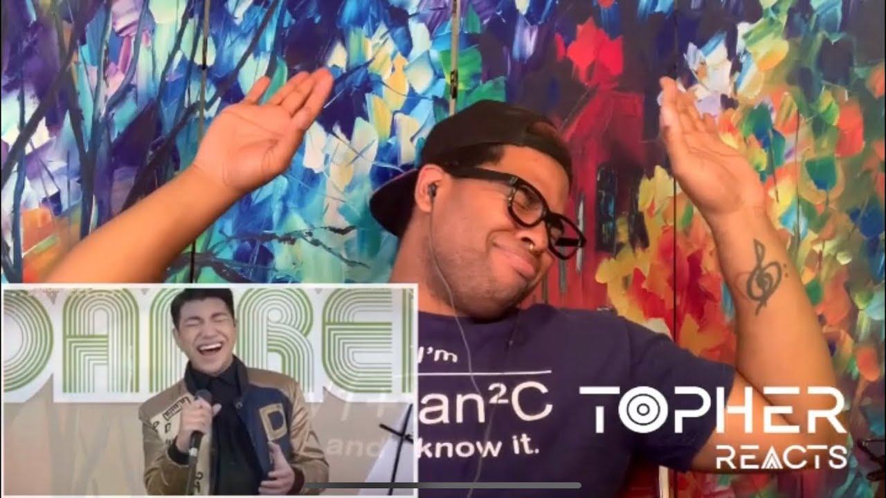 Darren Espanto - Hallelujah [D'Birthday Concert From Home] (Reaction) | Topher Reacts