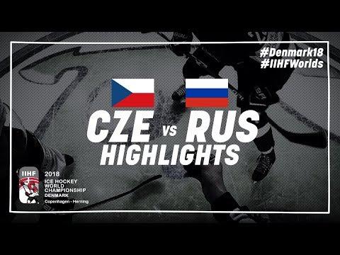 Game Highlights: Czech Republic vs Russia May 10 2018 | #IIHFWorlds 2018