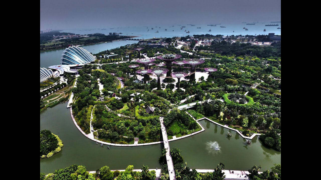 Singapore 4k Aerial Drone Photography 2015 YouTube