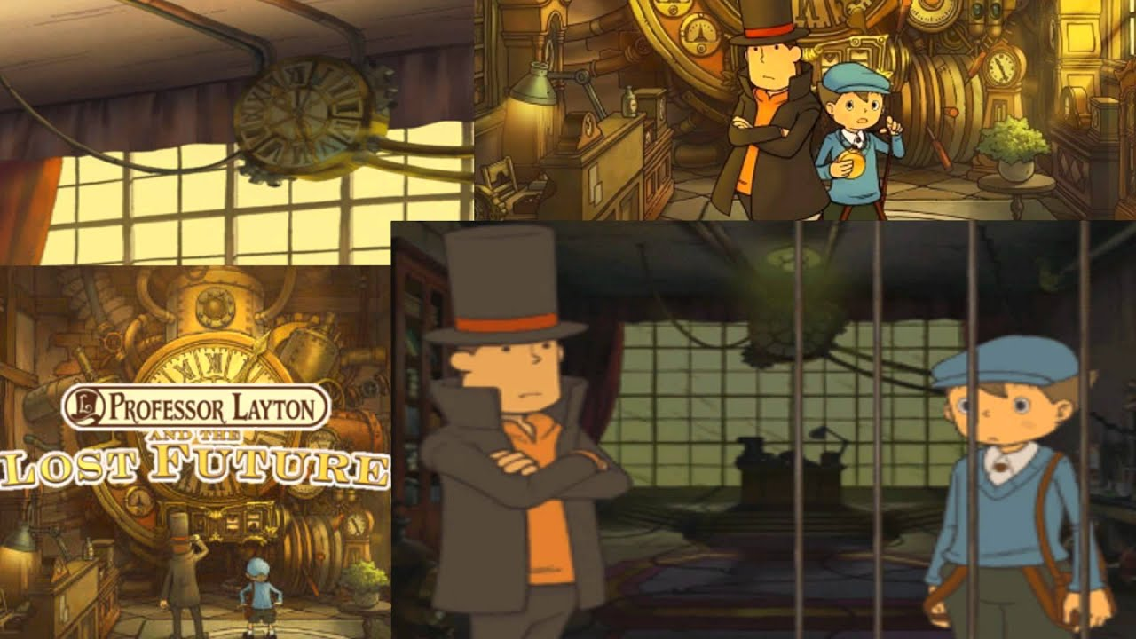 Professor Layton And The Lost Future Walkthrough Part 28 Youtube
