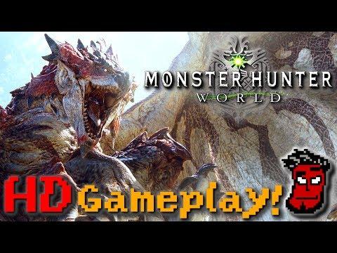 Monster Hunter World: NEUES Gameplay - Analyse! | Monster Hunter World [German Deutsch]