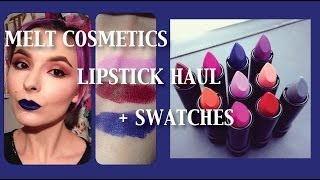 MELT COSMETICS LIPSTICK HAUL + SWATCHES Thumbnail