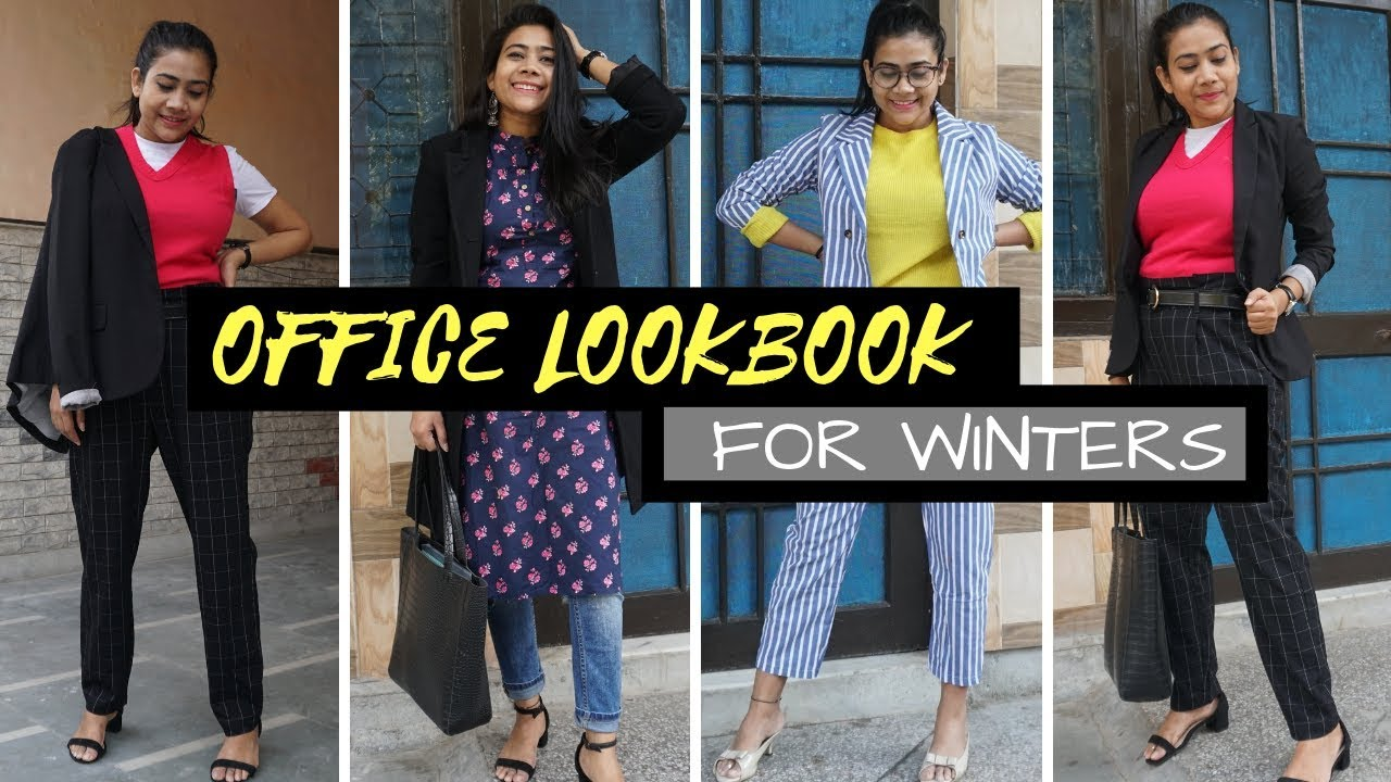 WHAT TO WEAR FOR OFFICE IN WINTER - EASY OUTFIT IDEAS  | RAKHI SINGH 5