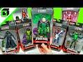 UNBOXING Marvel Legends SPIDER-MAN Lizard Build a Figure Complete set by Hasbro!