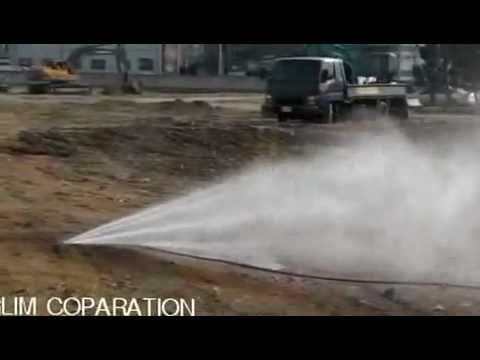 compact combined sewer cleaning machine