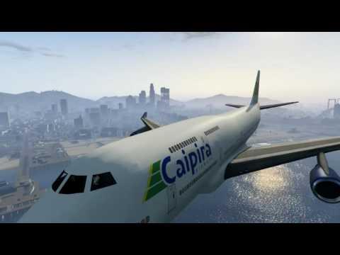 GTA V Fly Us Airline