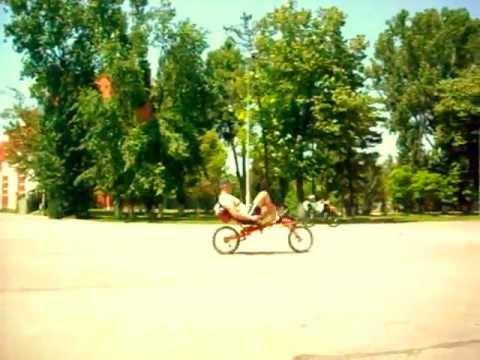 Recumbent ride diy fwd Romania Bucharest