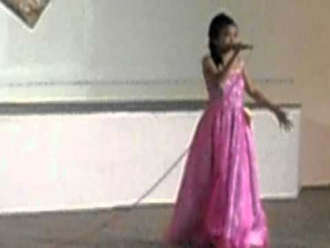 krisna's 1st song solo competition @UIC, davao city