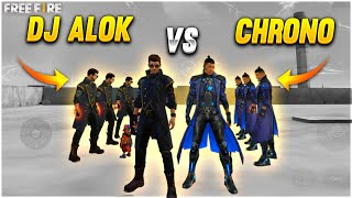 Dj Alok Vs Chrono Factory Challenge Which Charecter Is Beat? | Dj Alok & Chrono - Garena Free Fire
