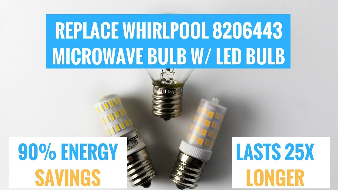 Change Bulb Oven Whirlpool How Light