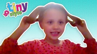 Flip Twist Hairstyle by Lexi | Tiny Styles