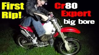 Cr80 Expert Big Bore Kit First Start