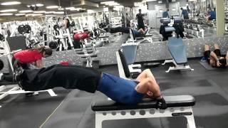 Rocky ab workout