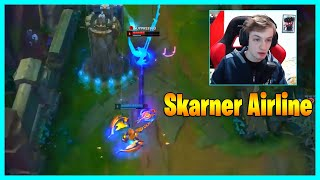Skarner Airline Interaction ft Nemesis - LoL Daily Moments Ep 1336
